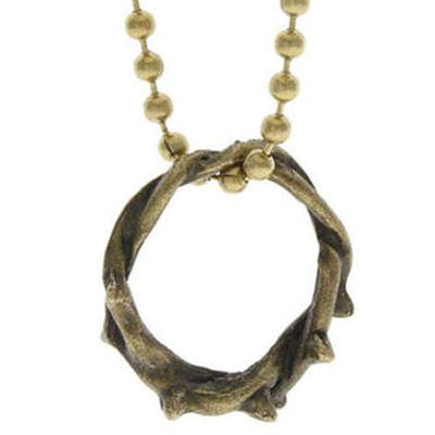 Bronze Crown of Thorns Necklace