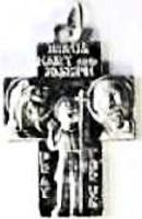 Saint Christopher Medal Cross