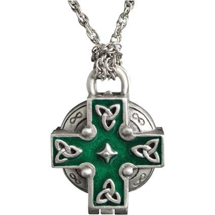 Celtic Cross In Loving Memory Urn Necklace Jewelry