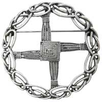 St. Brigid's Cross Pin Pendant