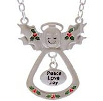 Angel of Christmas Necklace