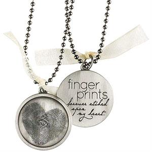 Fingerprints Forever Necklace
