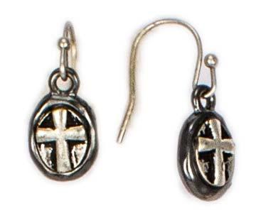 Cross Necklace & Earring Set