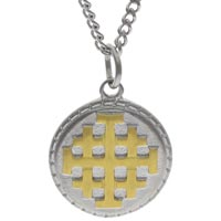 Jerusalem Cross Necklace Stainless Steel