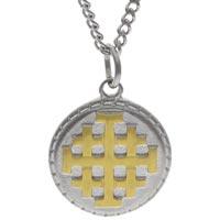 Jerusalem Cross Necklace Stainless Steel