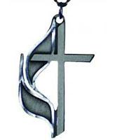 UMC Cross and Flame Cross Pendant