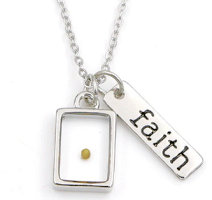 Mustard Seed Necklace - Faith Necklace