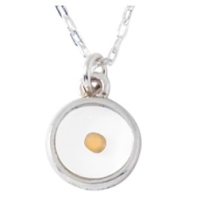 Sterling Silver Mustard Seed Necklace