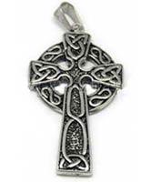 Celtic Cross Pendant Stainless Steel