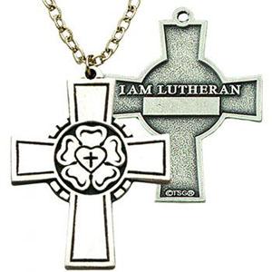 Lutheran Rose Confirmation Cross