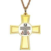 Presbyterian Cross Necklace Gold