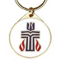 Presbyterian cross necklace