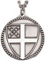 Sterling Silver Episcopal  Necklace