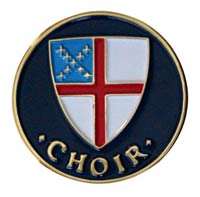 Episcopal Church Choir Pin