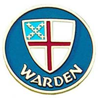 Episcopal Warden Pin