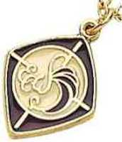 Episcopal Woman Necklace Gold