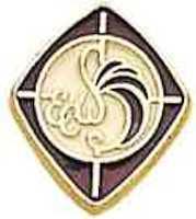 Episcopal Woman's Pin Gold