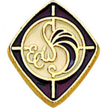 Episcopal Woman's Pin Gold
