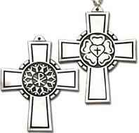 Lutheran Pectoral cross necklace