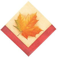 Fall Breeze Luncheon Napkins (Pkg of 16)