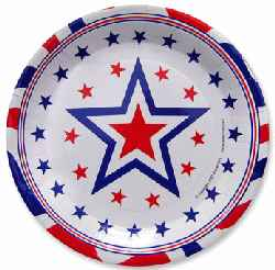 Star party plates 9 inch