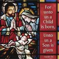 Thanks be to God Christmas Napkins