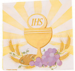 Communion Luncheon Napkins Paper (Pkg of 16)