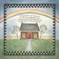 Rainbow Luncheon Napkins � Psalm 19