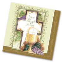 Bread of Life Communion Napkins (Pkg of 20)