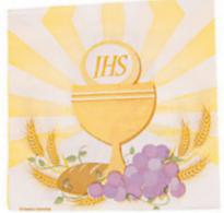 Communion Luncheon Napkins Paper (Pkg of 16)