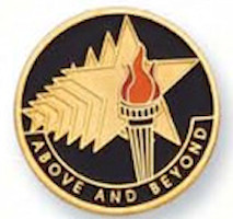 Above and Beyond Award Pin