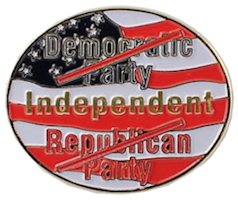 USA Independent Voter Lapel Pin