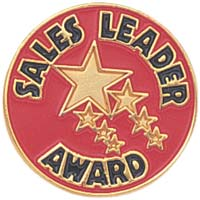 Sales Leader Award Lapel Pins