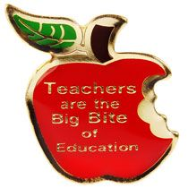 apple teachers pins