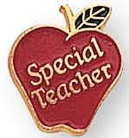 Special Teacher Recognition Lapel Pins