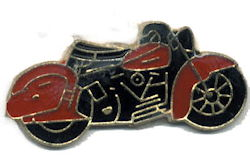 Older Motorcycle Pin