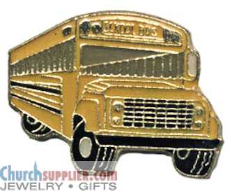 School Bus Lapel Pin