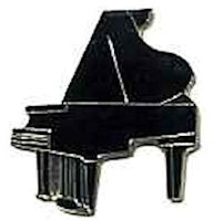 Grand Piano Lapel Pins