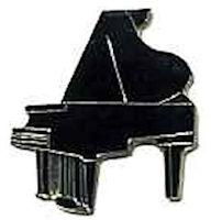 Grand Piano Lapel Pins