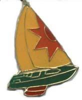 Sail Boat Lapel pin
