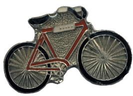 Bike Lapel Pins Bicycle Gold