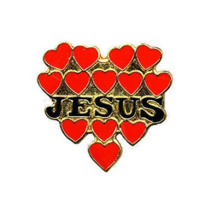 Jesus Hearts Pin