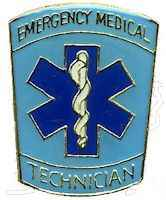 Emergency Medical Technician Lapel Pin