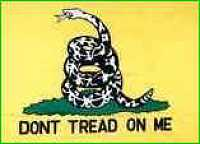 Don't Tread on Me  Flag Lapel Pin Gadson flag