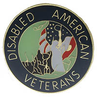 Disabled American Veterans Pin