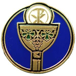 Holy Eucharist Pin