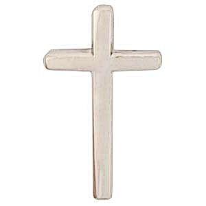 Silver Cross Lapel Pins Christian