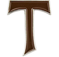 Tau Cross Pin St. Anthony cross