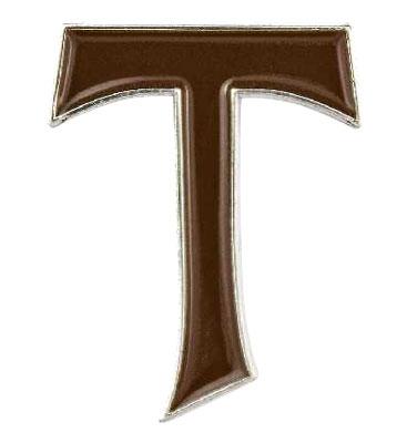 Tau Cross Pin
