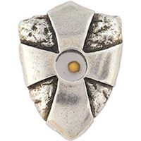 Mustard Seed Lapel Pin - Cross Shield